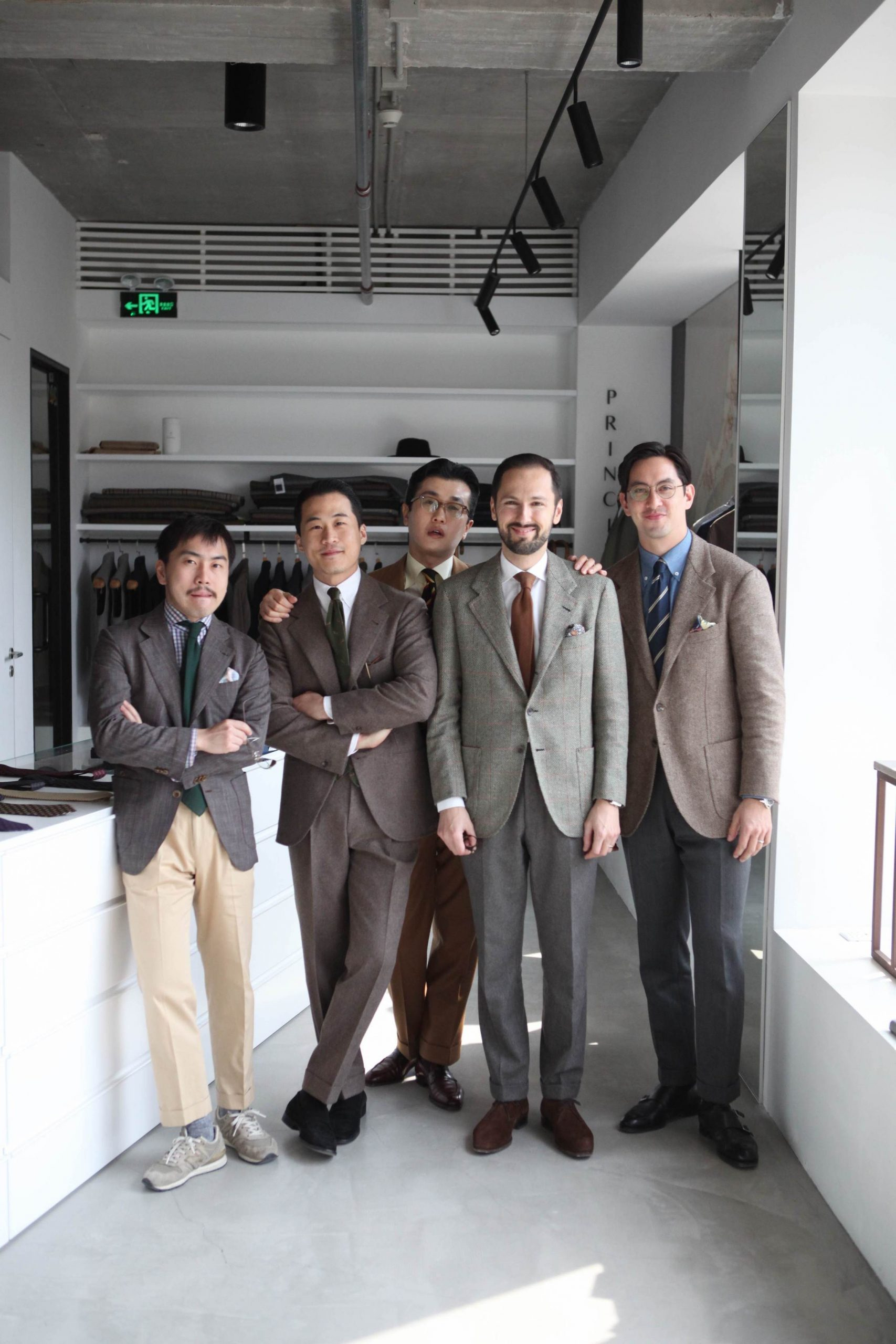 B&Tailor's Sixth Trunk Show at Principle M, November 24 & 25