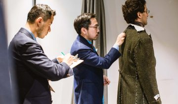 Semi-bespoke 03 | The Ordinary Process From Start To Finish Of Commissioning A Suit